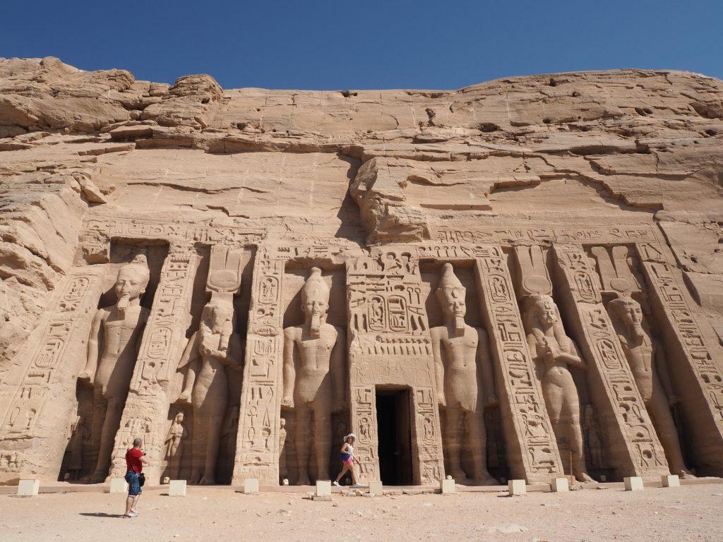 The spectacular Abu Simbel Temple