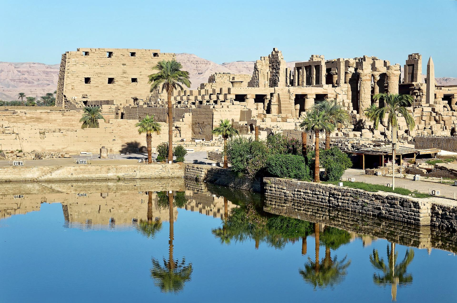 Karnak's Sacred Lake