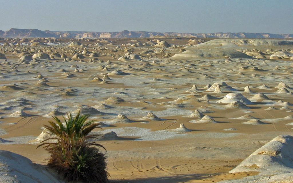 White desert of Egypt