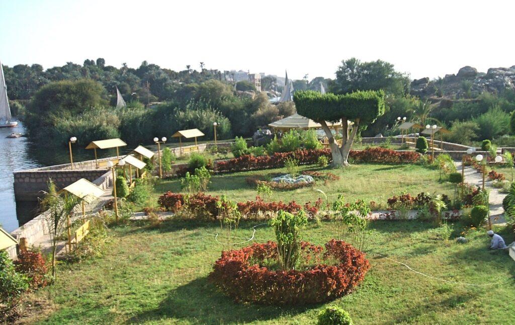 Aswan's Botanical Gardens